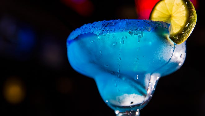 A file photo of a margarita positioned on a table at Scotty's Brewhouse in The Village.