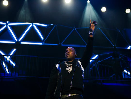 June 29, 2017 - Memphis rapper Yo Gotti performs during