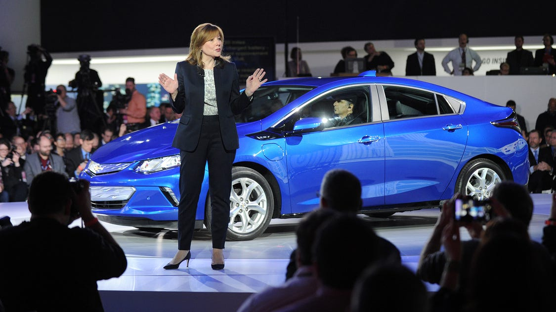 Gm Ceo Mary Barra Earns In 2014