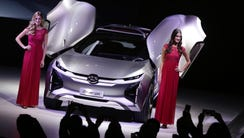 GAC Motor unveils it's concept car the Enverge.