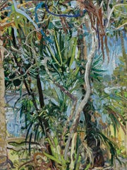 "FSU art professor and painter Lilian Garcia-Roig, who was born in Havana and grew up in ?Texas, is proud to be included in ""Cuban Art in the 20th Century."" Her painting titled ""St. Marks Inlet"" is shown here."