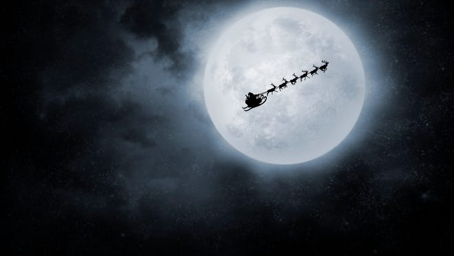 Who's that in the sky? Is it Santa? NORAD will help you make sure with its Santa tracker on Christmas Eve.