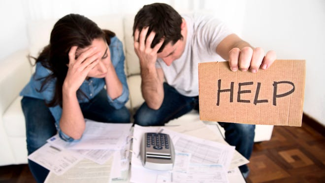 you may benefit from visiting a financial therapist or counselor to help you find the root of your financial issues.