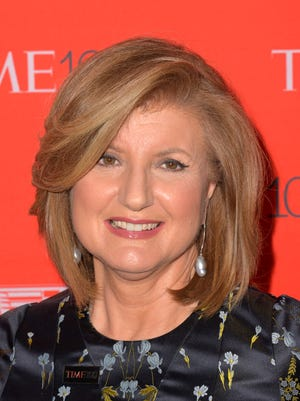 Arianna Huffington attends the 2016 Time 100 Gala at Frederick P. Rose Hall, Jazz at Lincoln Center on April 26, 2016 in New York City.