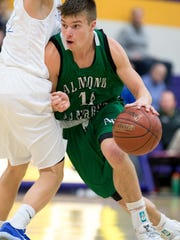 Noah Kollock was a first-team selection to the all-Central Wisconsin Conference-10 boys basketball team.
