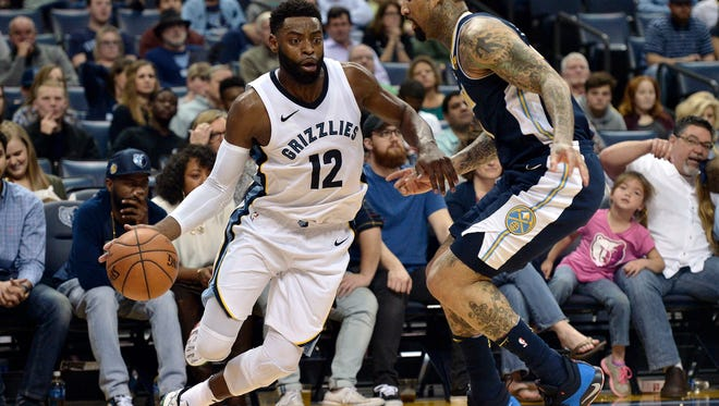 Guard Tyreke Evans (12) spent one season with the Grizzlies.