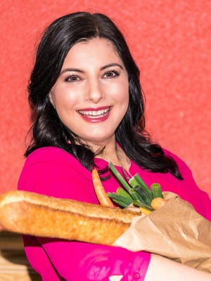Maria Benardis gave up an accounting career to pursue her passion, Greek cooking.