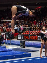Gymnastics: Southern Utah vs Utah State, Friday, Jan. 22, 2016.