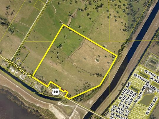 A large tract, 99.4 acres along U.S. 441 and the C-59