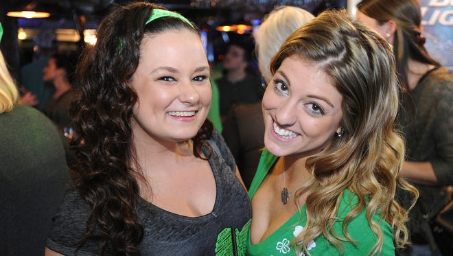 Revelers celebrate St. Patrick's Day at the opening of The Starboard in Dewey Beach last year.