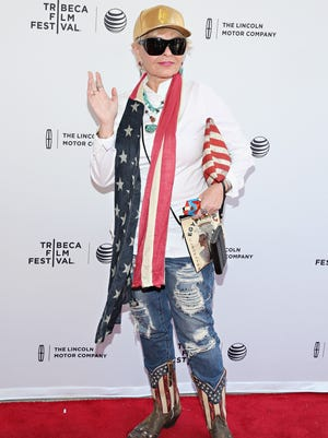 Roseanne Barr attends the 2015 Tribeca Film Festival.