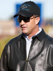 Todd Fincher is a horse trainer at Sunland Park Racetrack