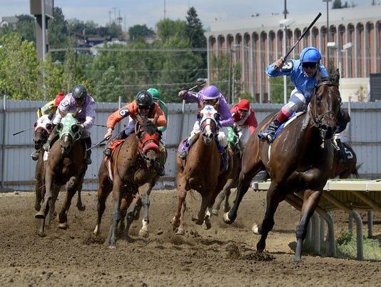 1 horse racing file photo