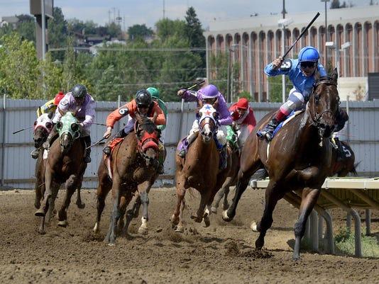 1 horse racing file photo