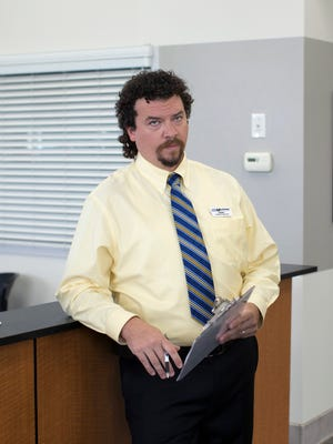 Danny McBride (left) and Cullen Moss in a scene from 'Eastbound & Down.'