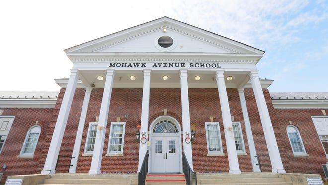Mohawk Avenue School in Sparta, Thursday, April 11, 2019.