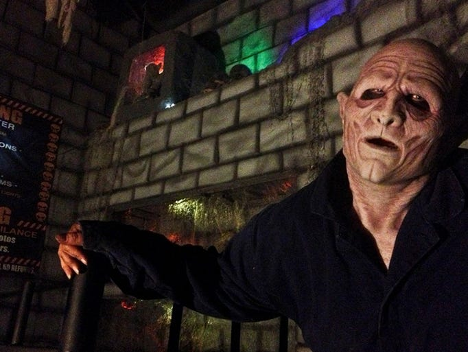 Chamber of Horrors, a charity spook, has volunteers working to raise money for their group or cause.
