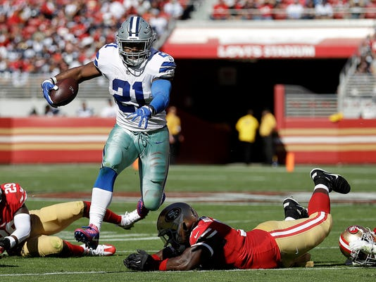 outlet store 5135e 35602 Elliott returning to Cowboys just in time to face struggling ...