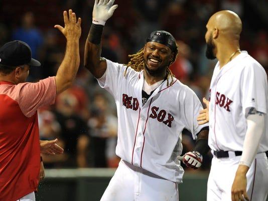 USP MLB: TORONTO BLUE JAYS AT BOSTON RED SOX S BBA BOS TOR USA MA
