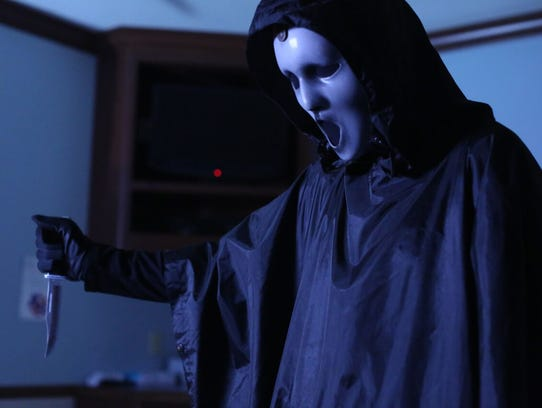 "For some reason, the killer in the ""Scream"" TV series"