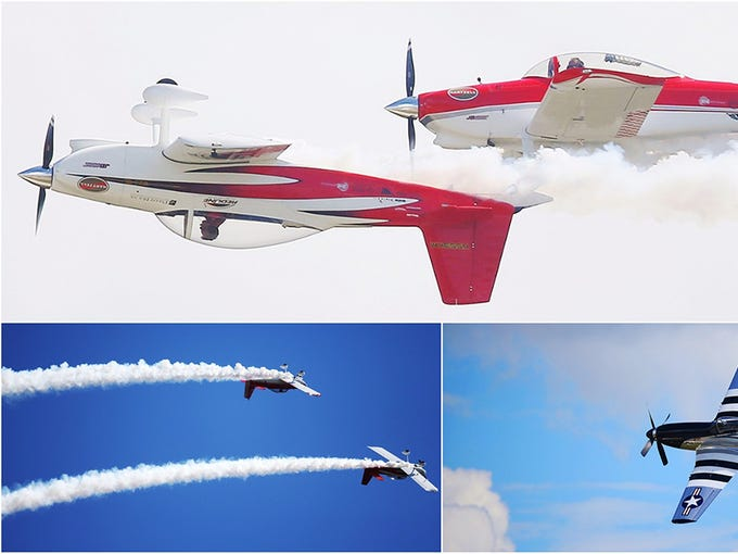 Scenes from the Florida International Air Show at Punta