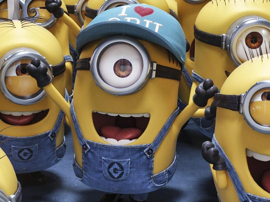 """Minions"" are lovable characters from the ""Despicable Me"" movies."