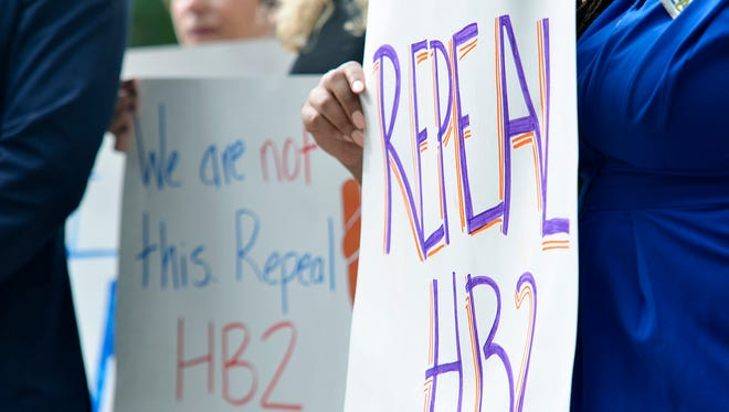 Transgender people and their supporters have been fighting for repeal of House Bill 2, a North Carolina law that requires people in government buildings to use the bathroom of the gender on their birth certificate.