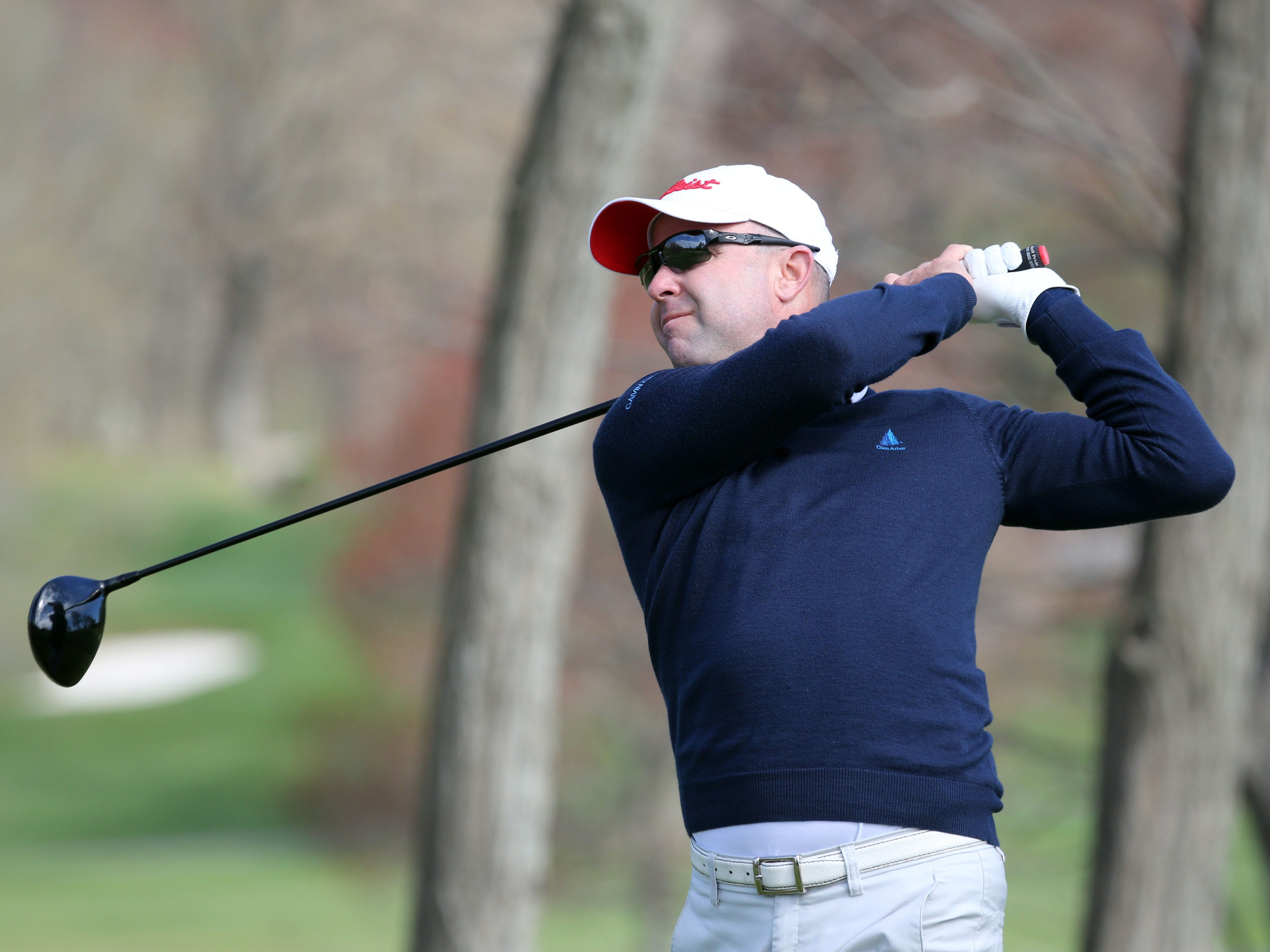GlenArbor director of golf Rob Labritz is seven strokes off the lead following a 3-under 69 in the second round of the PGA Professional Championship at Turning Stone.