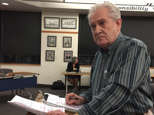 Allen Piper, president of Citizens for Responsible Government, took Chambersburg Area School District board members to task at a board meeting earlier this year for opposing legislation to eliminate property taxes in Pennsylvania.