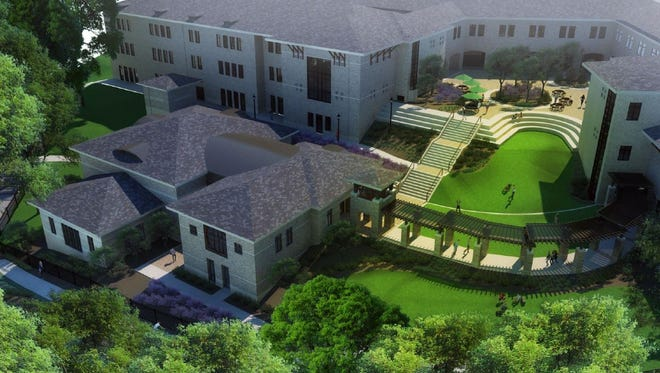 The South Carolina Governor's School for the Arts and Humanities is building a new music rehearsal space.