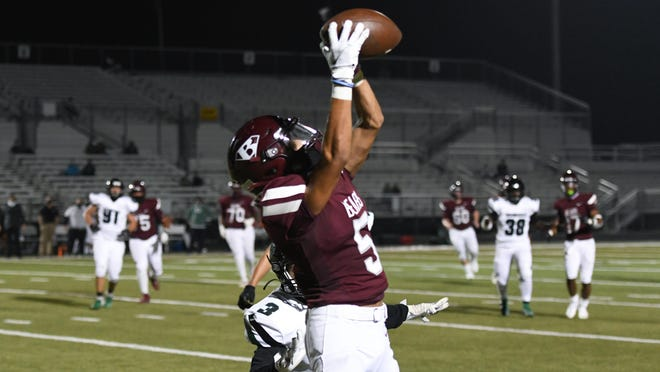 Bastrop's Jayln Cavazos has climbed the depth chart to become a big part of the Bears' offense.