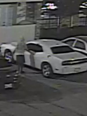 Hattiesburg police are looking a person whom they believe may be involved in a rash of auto burglaries at Mark IV Apartments.