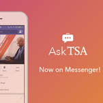 The Transportation Security Administration says it will be the first federal agency to roll out a social media presence via Facebook Messenger.