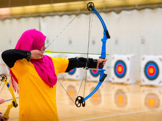 Archers from across the state compete in the Michigan