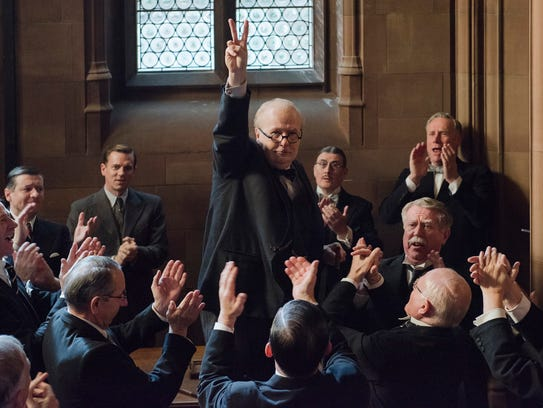 Gary Oldman stars as British statesman Winston Churchill