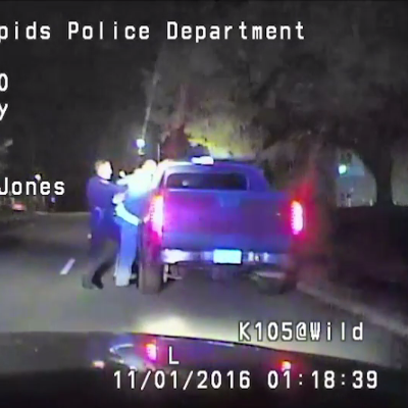 Cedar Rapids Police released the dashcam footage from