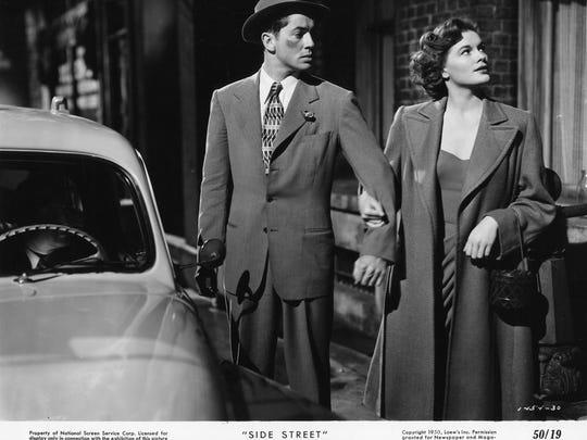 "Farley Granger and Cathy O'Donnell star in ""Side Street"" in the Arthur Lyons Film Noir Festival"