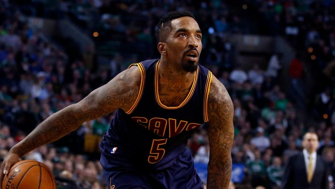 J.R. Smith will miss the first two game of the Cavaliers' next series.