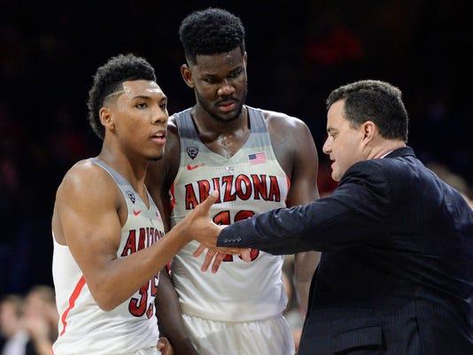 NCAA Basketball: MD Baltimore Cty at Arizona