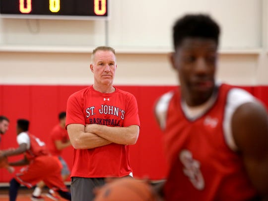Although they never crossed paths at St. John's, former NBA star Chris Mullin and Iona coach Tim Cluess competed together as young players. Their teams meet Sunday at Madison Square Garden.