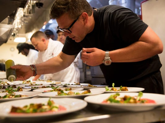 Chef Tyler Florence Makes Exclusive Appearance At Coopers Hawk Naples