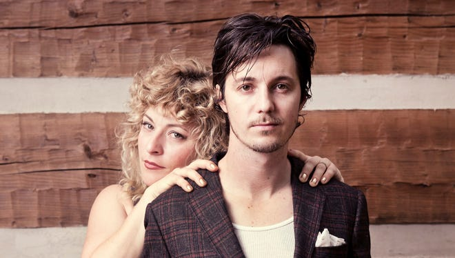Shovels & Rope is Cary Ann Hearst , left, and Michael Trent.