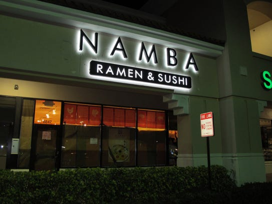Namba Ramen & Sushi is targeted to open in January