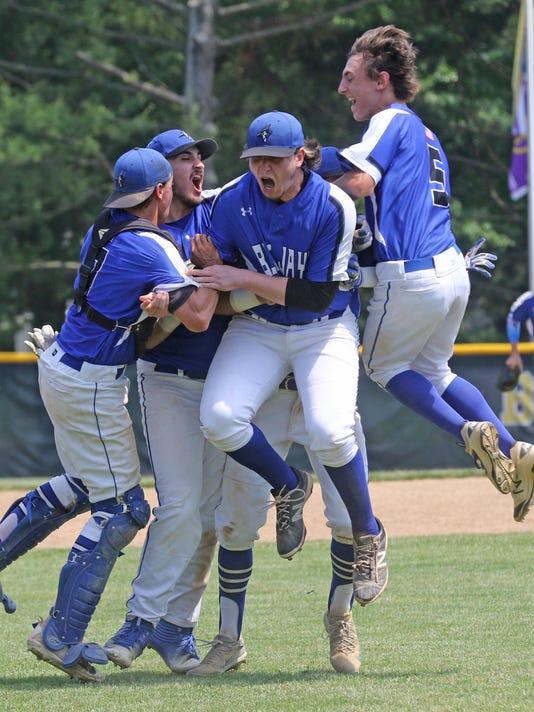 NJSIAA Group 1 baseball final: Park Ridge vs. Middlesex. --