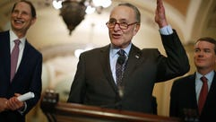 Sen. Ron Wyden (D-OR), Senate Minority Leader Charles