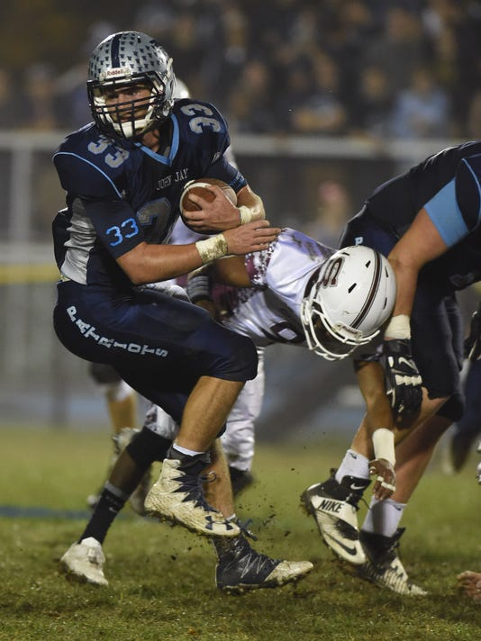 Football: John Jay vs Scarsdale