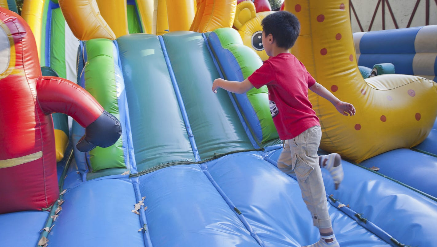 ouch injuries rise on popular inflatable amusements