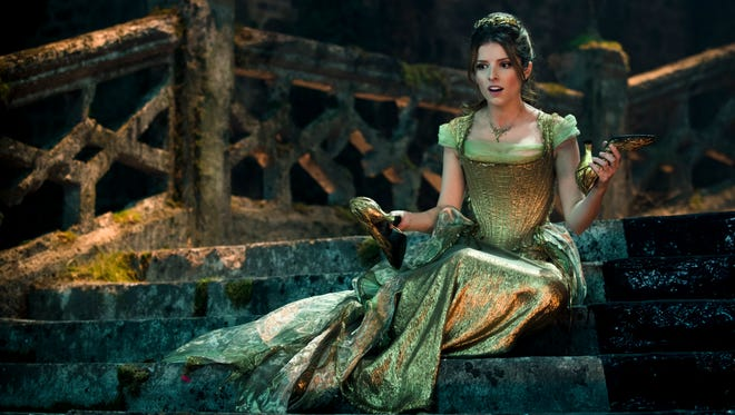 Anna Kendrick stars as Cinderella in 'Into the Woods,' opening on Christmas Day.