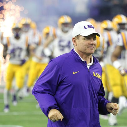 Many believe LSU head coach Les Miles has the Tigers