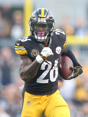 Former Michigan State running back Le'Veon Bell held out during the preseason.
